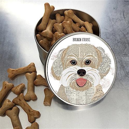 Bichon Frise Dog Tin