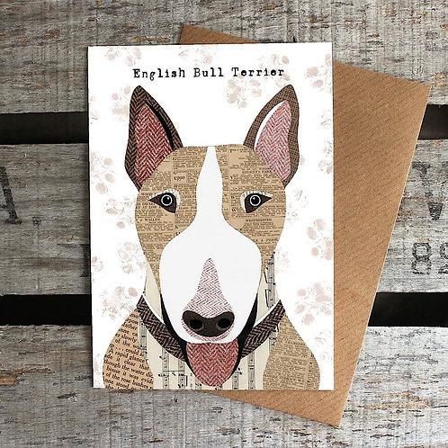 PAW22 - English Bull Terrier Card
