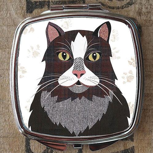 Ragamuffin Cat Compact Mirror