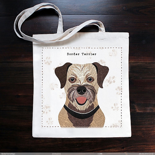 Border Terrier Dog Bag