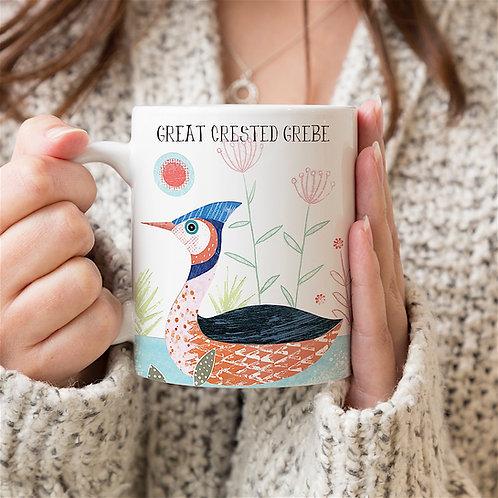 Great Crested Grebe Personalised Mug
