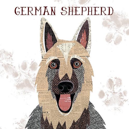 German Shepherd dog mug