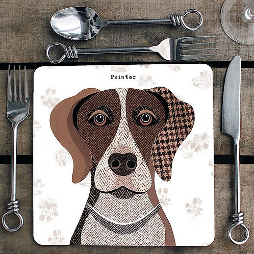 Pointer Placemat/Coaster