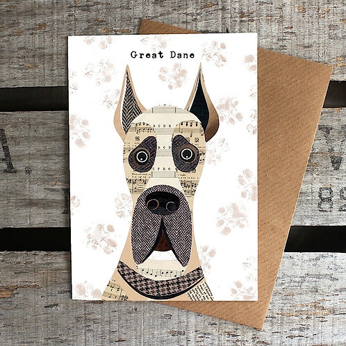 PAW04 - Great Dane Card