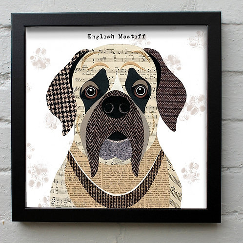 English Mastiff Dog Art Print