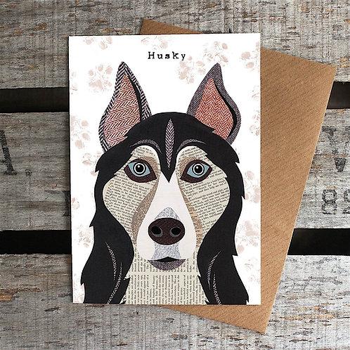 PAW27 - Husky Dog Card