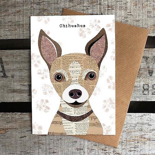 PAW17 - Chihuahua Card