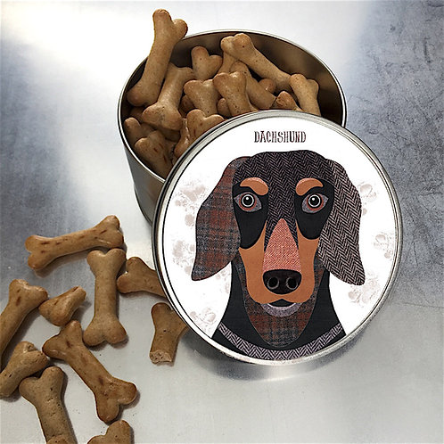 Dachshund Dog Tin