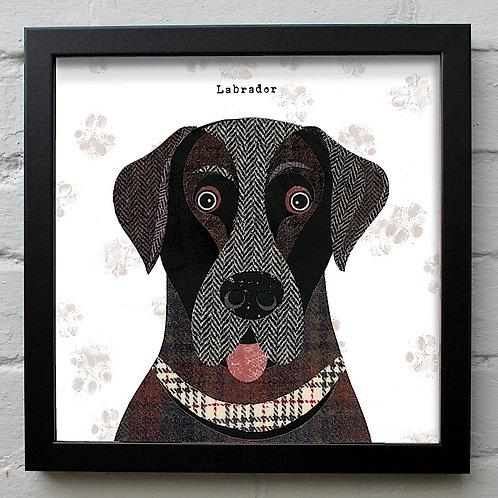 Labrador  Dog Art Print