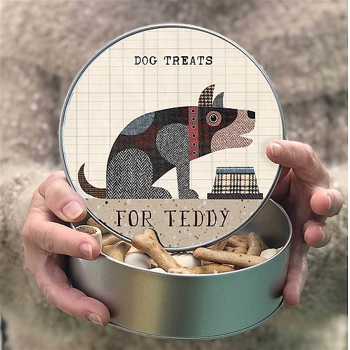 Personalised 'Hungry Hound' Tin