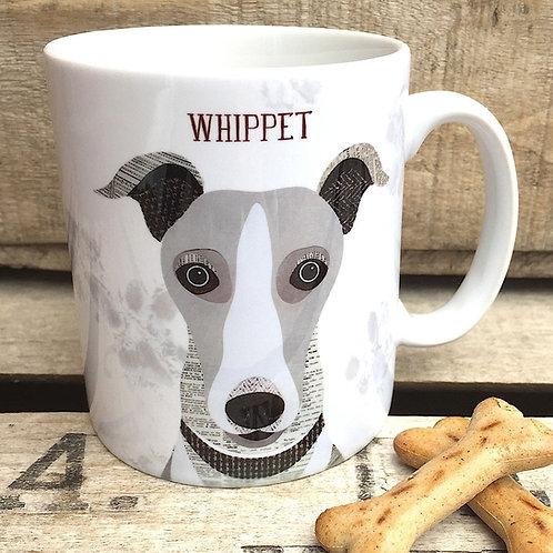 Whippet  dog mug