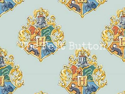Harry Potter Blue Watercolour Crest
