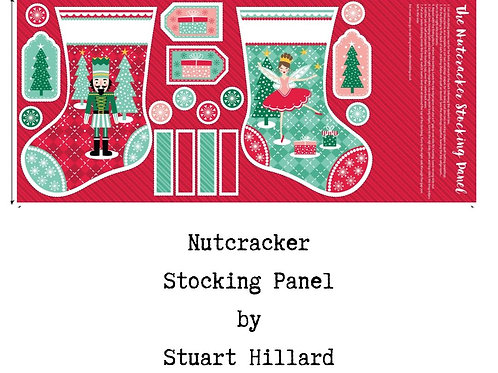Stuart Hillard Nutcracker Stocking Panel