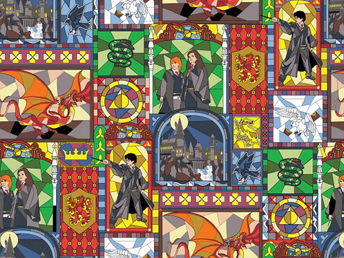 Harry Potter Window Stained Glass