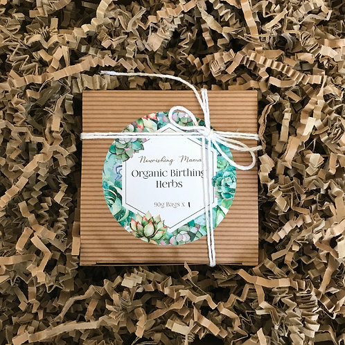Postpartum organic healing herbs