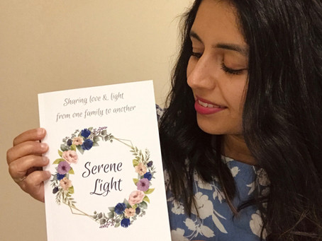 Serene Light Poetry Book