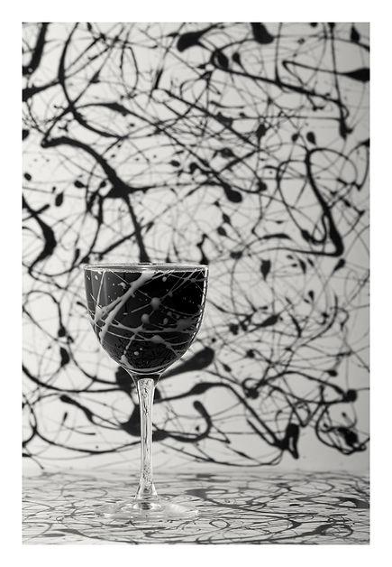 Redemtion cocktail manuel spolaore pietro rizzato fotografo jackson pollock arte informale