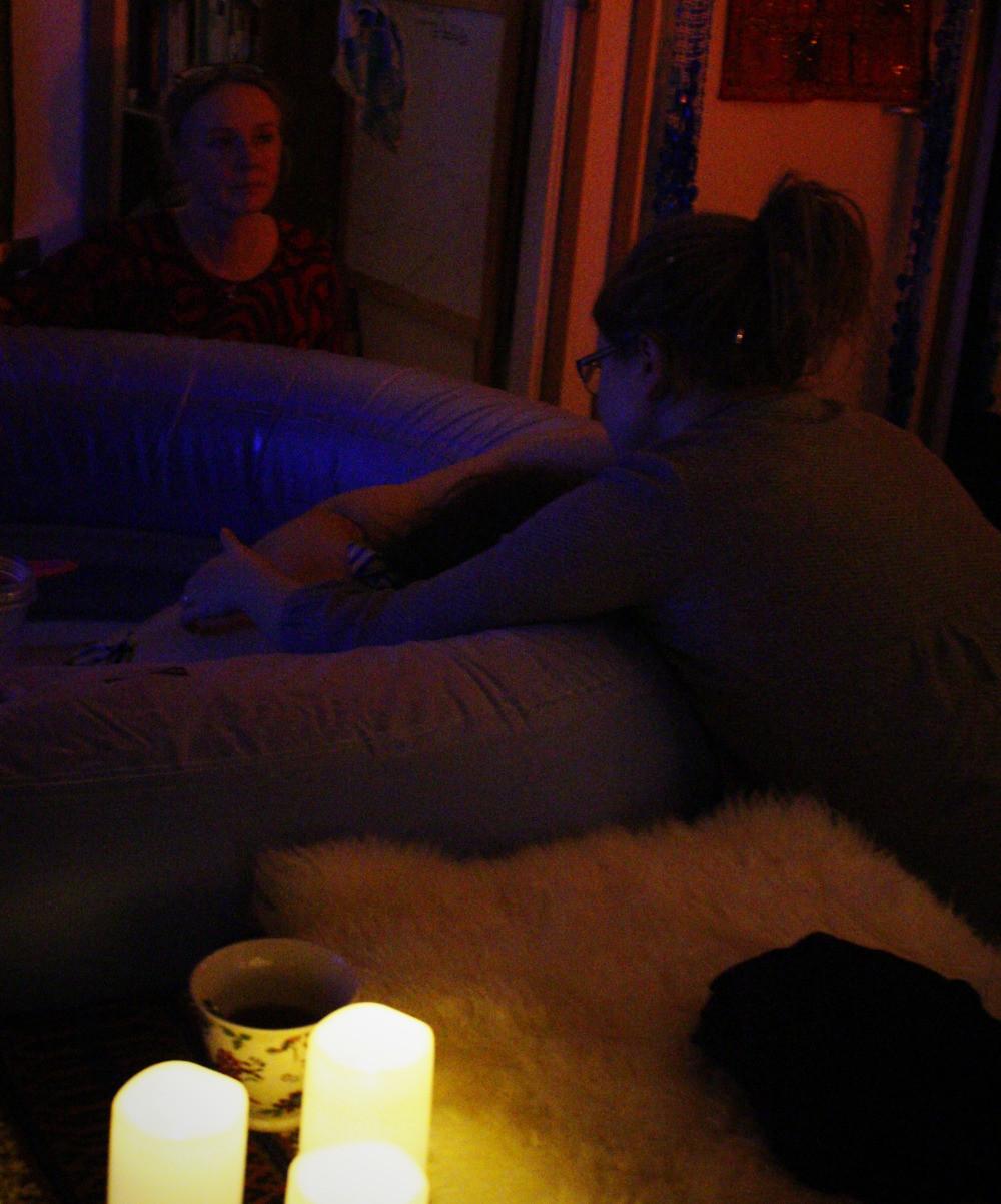 Kotisynnyttäjä, doula ja kotilo