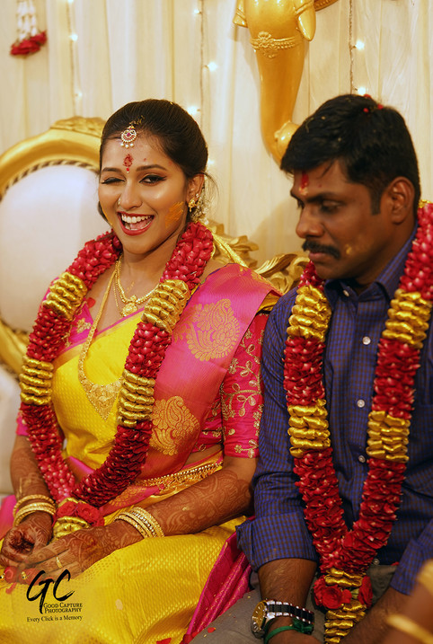 Candid wedding photography Chennai by Good Capture Photography