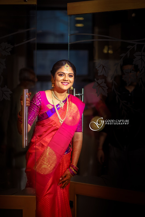 Brahmin wedding photoshoot of Manasa
