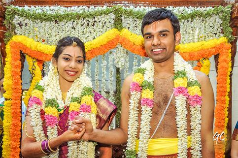 Brahmin Wedding Photograph of Sri