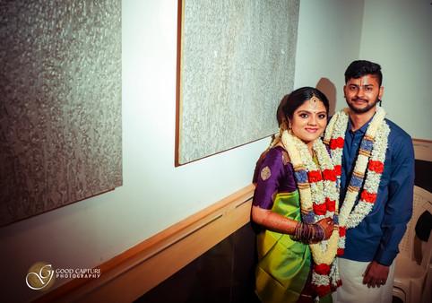 Brahmin wedding photography couple photoshoot of Manasa & Shreyas