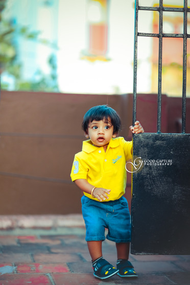 Portrait baby photoshoot in Chennai by Good Capture Photography