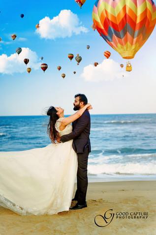 Prewedding photoshoot by Good Capture Photography best pre wedding photographers in Chennai