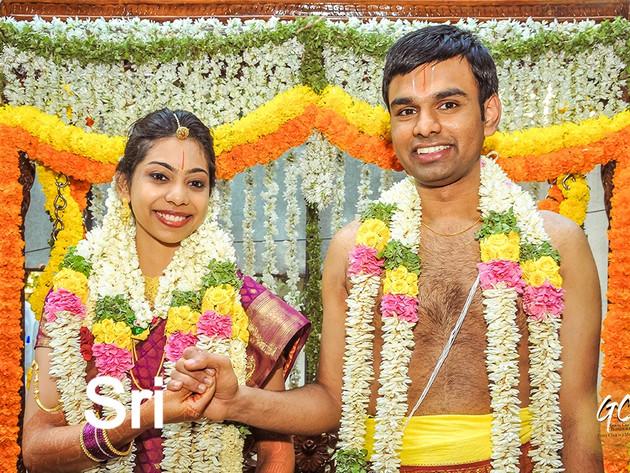 Brahmin Wedding photography of Sri