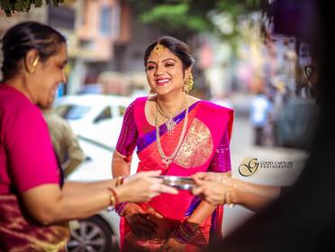 Brahmin wedding Candid photography of Manasa
