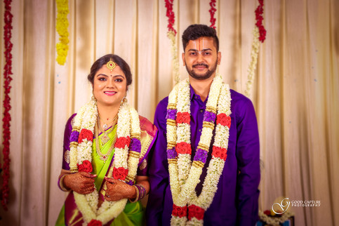 Brahmin wedding photography of Manasa & Shreyas