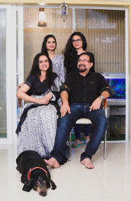 Family Portrait photoshoot session in Chennai by good capture Photography studio