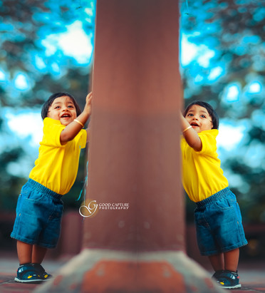 Kids creative portrait photoshoot by Good Capture Photography