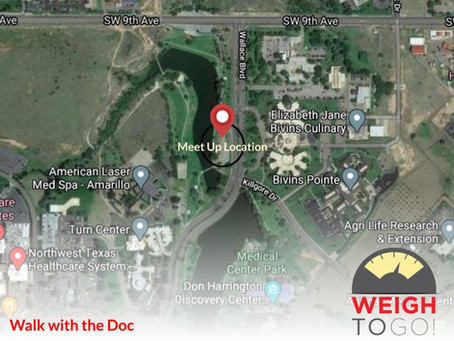 Walk with the Doc Meet Up Location