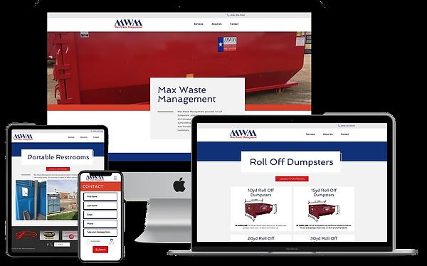 max waste website.png