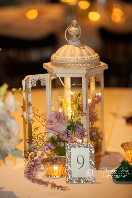 Table Lighted Lantern
