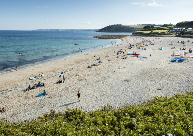 Imagine being a student at University and having this on your doorstep! Falmouth's beautiful Gyllyngvase Beach