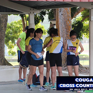 Cougars Cross Country 2017