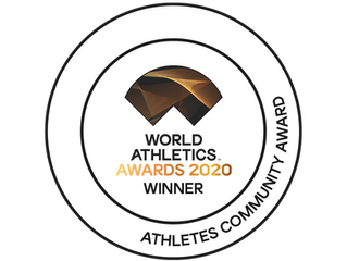 2020 Athletes Community Award from World Athletics