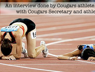 Interview Done by Darine, Cougars Athlete