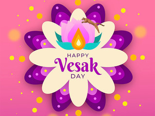 Happy Vesak Day from Cougars Athletic Association