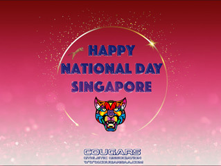 Happy 55th National Day Singapore!