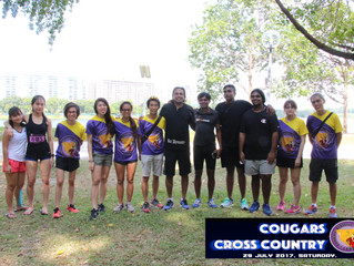 Post Cougars Cross Country 2017