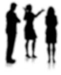silhouettes-of-people-talking_1048-5221.