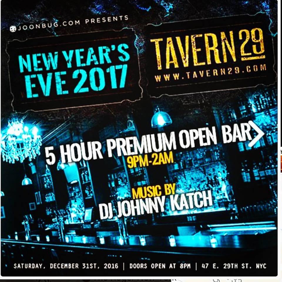 Tavern29 NYE 2017 1