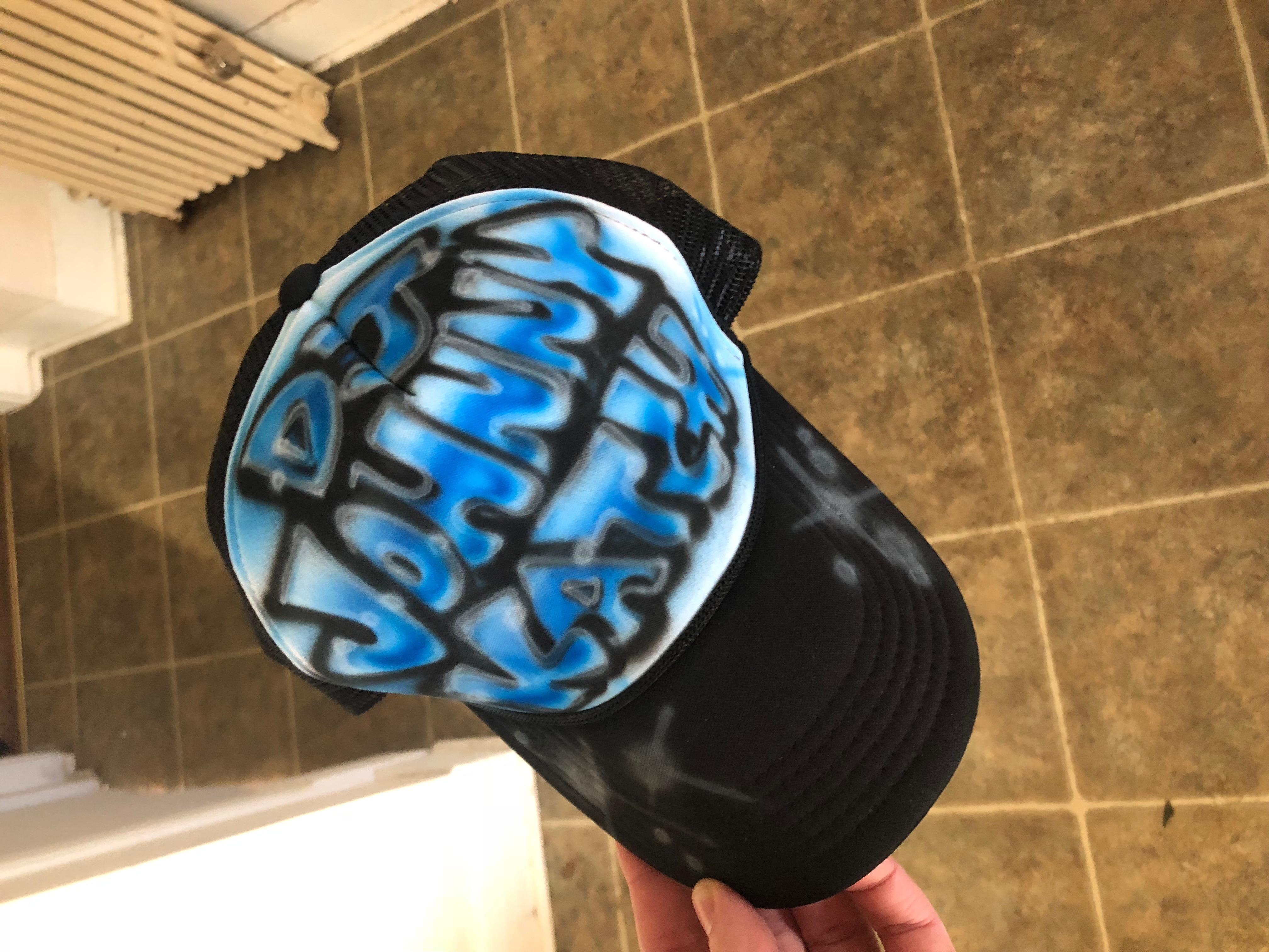 Airbrush Hat 1