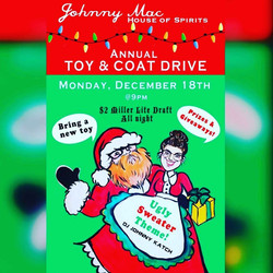 Johnny Macs Ugly Sweater Party 12_9_17