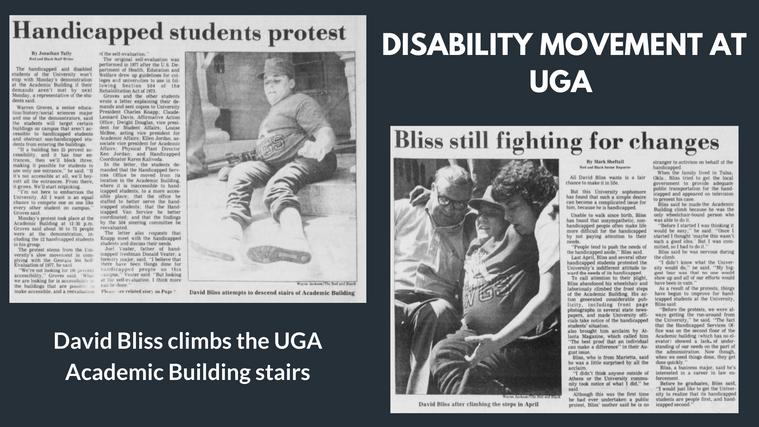 Disability Movement at UGA