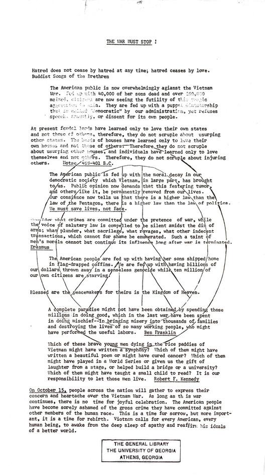 Protest- vietnam war (1968-1972) page 5.