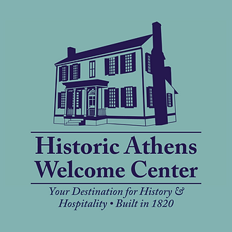 Color logo for the Historic Athens Welcome Center